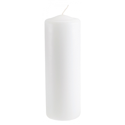 Pillar Candle 2 x 6 Inch for Weddings, Events and DIY Brides. Wedding Florist Serving NYC and NJ