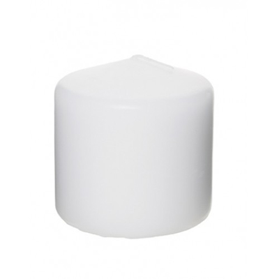 White Pillar Candle 3 x 3 Inch for Weddings, Events and DIY Brides. Wedding Florist in Fairfield, New Jersey
