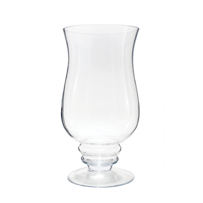 Hurricane Vase Clear Glass Available For Weddings Events Diy Brides