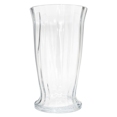 Fluted Rose Vase 12 x 6.5in for Weddings, Events and DIY Brides. Wedding Florist in Fairfield, NJ