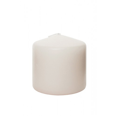 Ivory Pillar Candle 3 x 3 Inch for Weddings, Events and DIY Brides. Wedding Florist Serving NYC and New Jersey