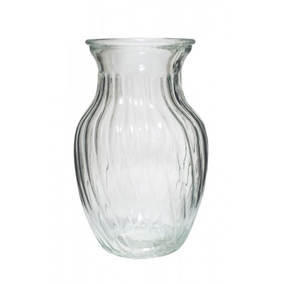 Bunch Vase With Swirl For Weddings, Events and DIY Brides. NJ Wedding and Event Florist