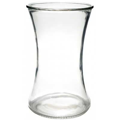 Clear Gathering Vase, 8x4.5 Clear Glass for Weddings, Events and DIY Brides. Wedding Florist in Fairfield NJ