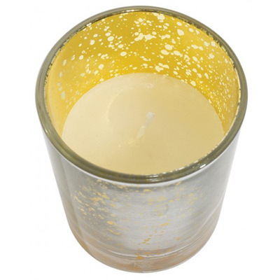 Mercury Silver Gold Glass Prefilled Votive for Weddings, Events and DIY Brides