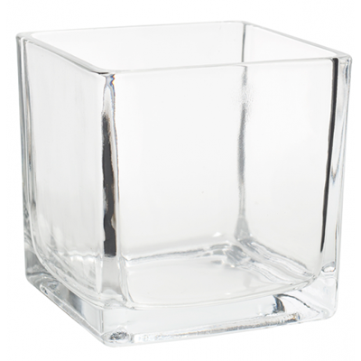 Cube Vase 4x4 for Weddings, Events and DIY Brides. Wedding Florist in Fairfield, NJ